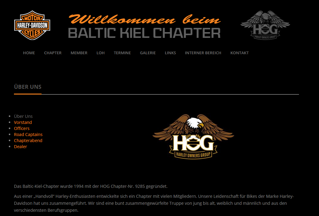Baltic Kiel Chapter | Homepage by Jaguar Solutions UG (haftungsbeschränkt)